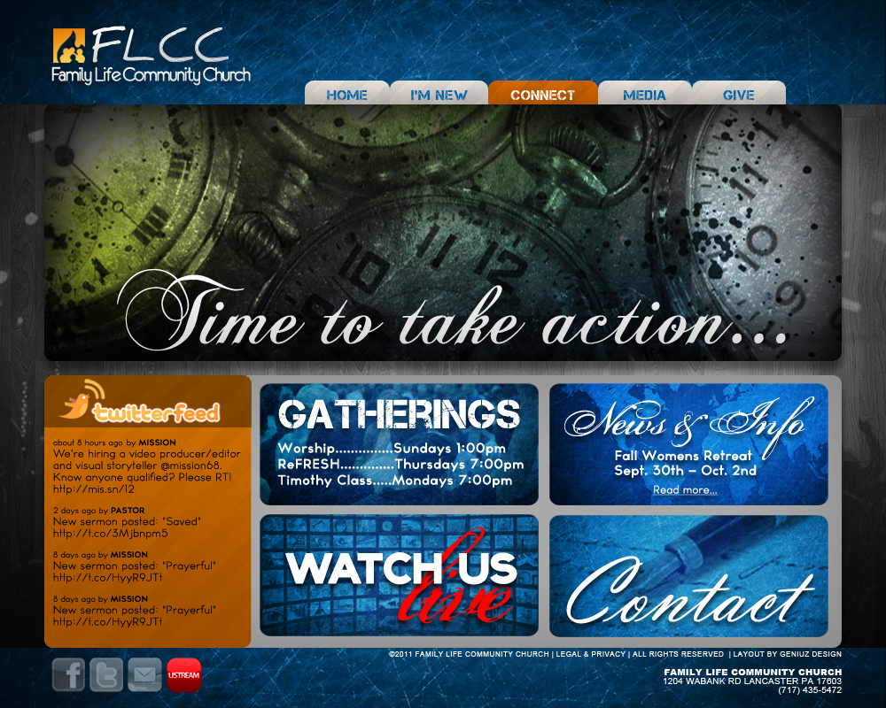 FLCC Website Template