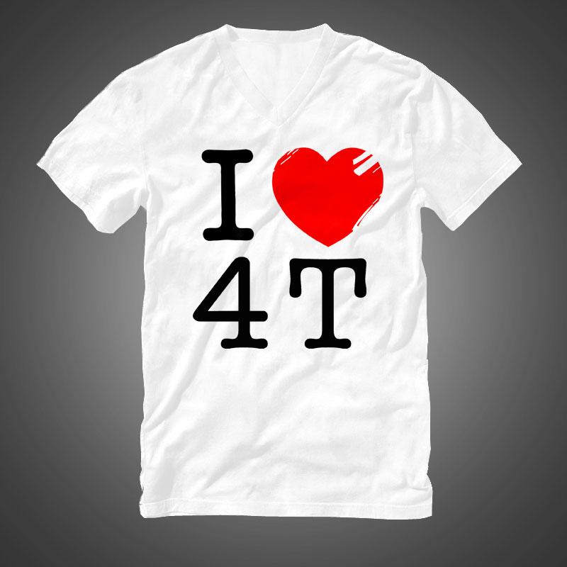 I Love 4T Shirt