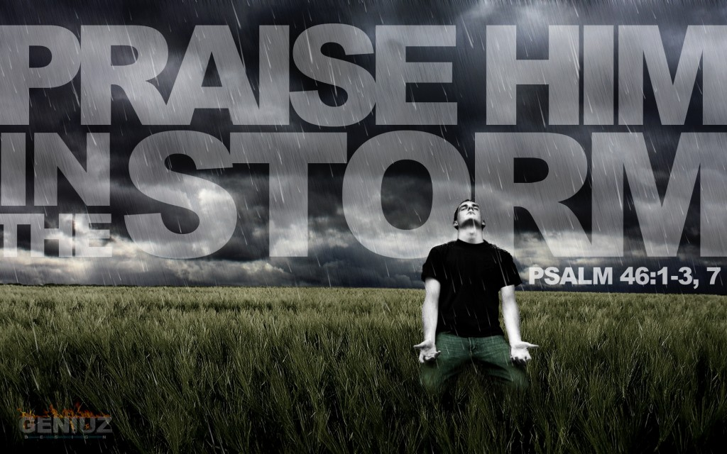 ChristArt – Praise Him in the Storm