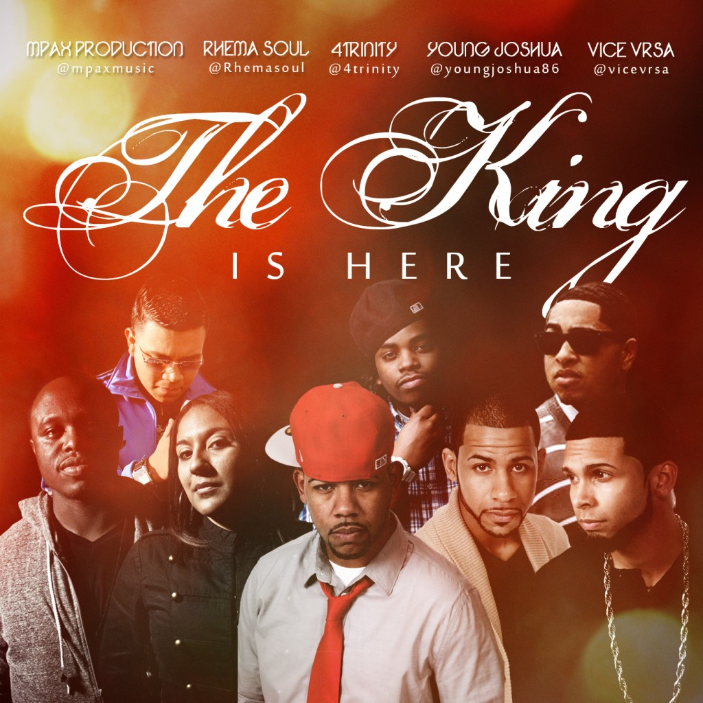 The King is Here Single (Cover)