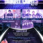 4 Trinity & Rhema Soul – Bright Lights Flyer