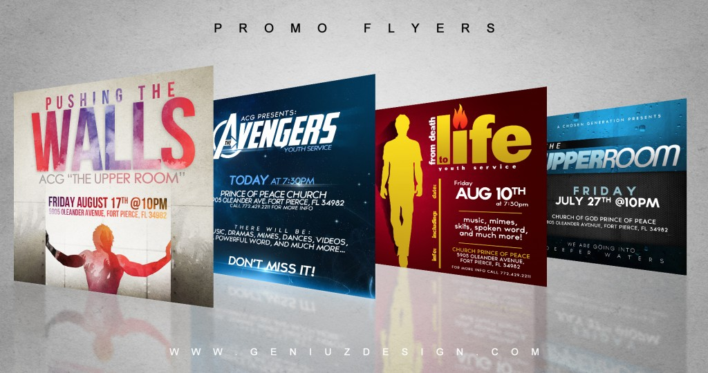 Small Promo Flyers