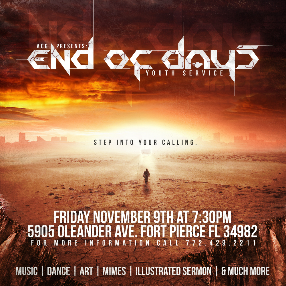 End of Days Flyer