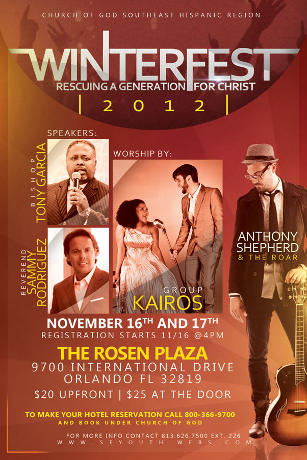 Winterfest 2012 – Rescuing a Generation for Christ Flyer
